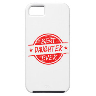 Best Daughter Ever Red Case For The iPhone 5