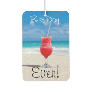 Best Day Beach Car Air Freshener