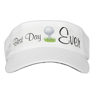 Best Day Ever Golf & Sun Visor