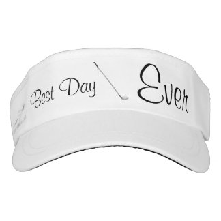 Best Day Ever Golf Visor