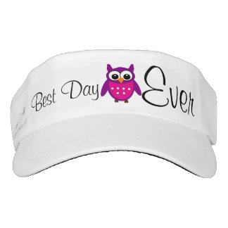 Best Day Ever Hoot Owl & Sun Visor