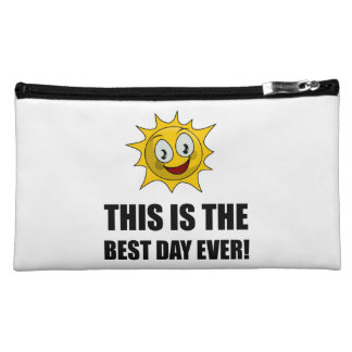 Best Day Ever Sunshine Cosmetic Bag