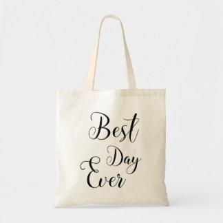 """""""Best Day Ever"""" tote bag"""