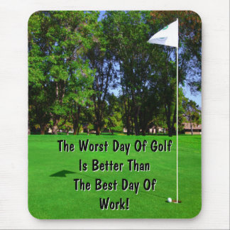 Best Day Of Golf Mousepad