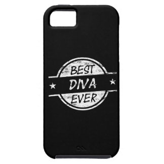 Best Diva Ever White Case For iPhone 5/5S