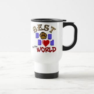 Best Dog Dad in the World Coffee Travel Mug