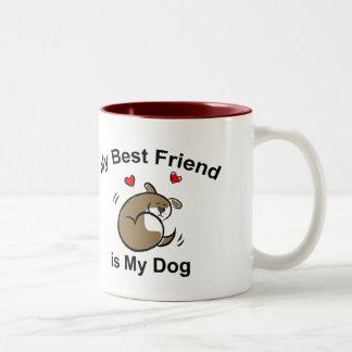 Best Dog Friend Coffee Mug