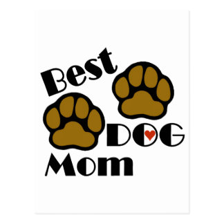 Best Dog Mom Dog Lover Gifts Postcard