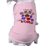 Best Dog Mum in the World Gifts Pet Clothing