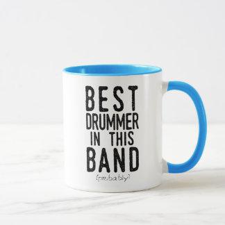 Best Drummer (probably) (blk) Mug