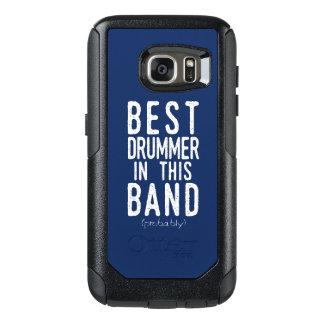 Best Drummer (probably) (wht) OtterBox Samsung Galaxy S7 Case