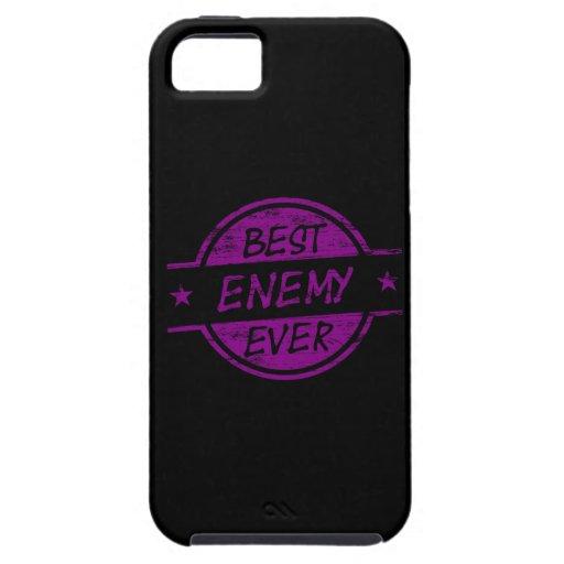 Best Enemy Ever Purple iPhone 5 Case