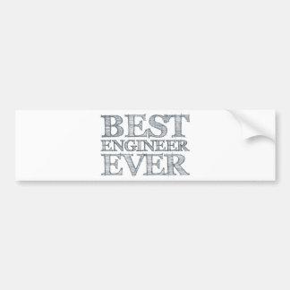 Best Engineer Ever Bumper Stickers