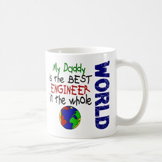Best Engineer In World 2 (Daddy) Coffee Mug
