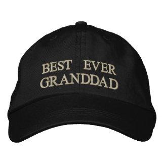 Best Ever Granddad embroidered Gift Embroidered Hat
