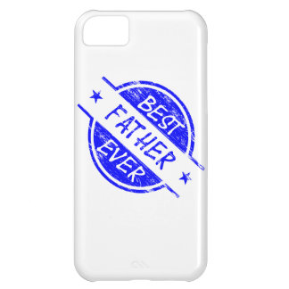 Best Father Ever Blue.png iPhone 5C Covers