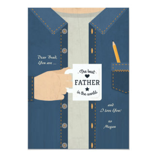 Best Father In The World Card