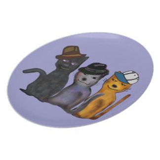Best Feline Friends Plate