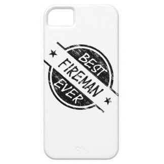 Best Fireman Ever Black Barely There iPhone 5 Case