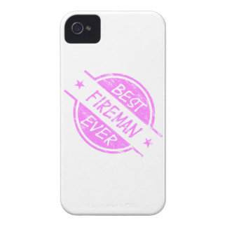 Best Fireman Ever Pink iPhone 4 Cases