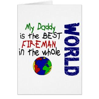 Best Fireman In World 2 (Daddy) Card