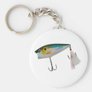 Best Fishing Baits for Bass and other fish Basic Round Button Key Ring