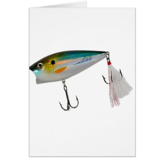 Best Fishing Baits for Bass and other fish Greeting Card