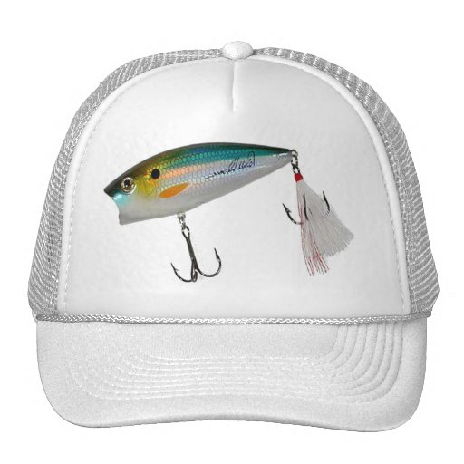 Best Fishing Baits for Bass and other fish Mesh Hat