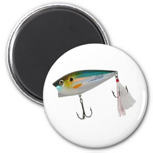 Best Fishing Baits for Bass and other fish Refrigerator Magnet