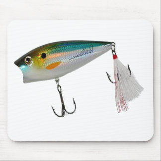 Best Fishing Baits for Bass and other fish Mouse Pad