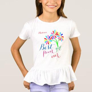 Best Flower Girl Ever customizable T-Shirt