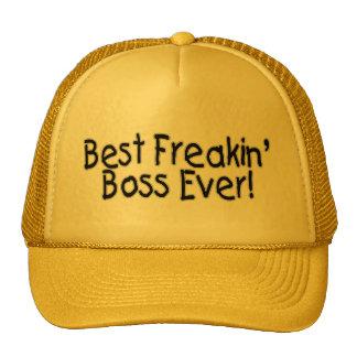 Best Freakin Boss Ever Trucker Hats