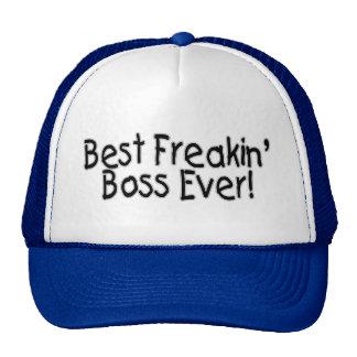 Best Freakin Boss Ever Mesh Hats