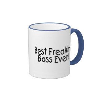 Best Freakin Boss Ever Coffee Mugs