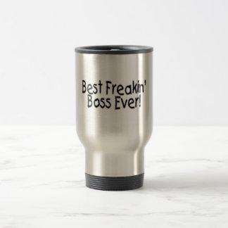 Best Freakin Boss Ever Stainless Steel Travel Mug
