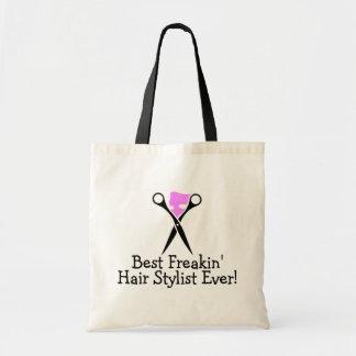Best Freakin Hair Stylist Ever Pink Black