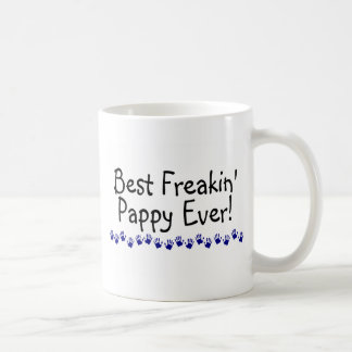 Best Freakin Pappy Ever Basic White Mug