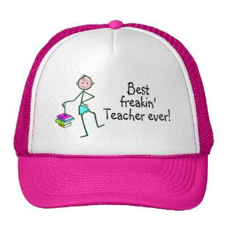 Best Freakin Teach Ever Cap