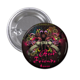 Best Friend 3 Cm Round Badge
