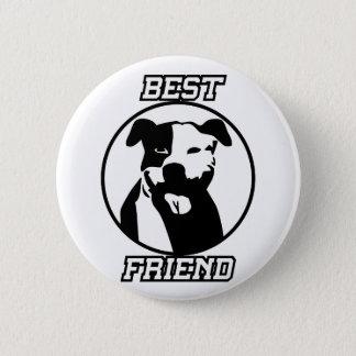 Best friend 6 cm round badge