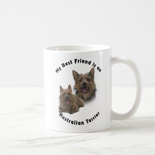 Best Friend Australian terrier Mugs