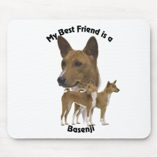 Best Friend Basenji Mouse Pad