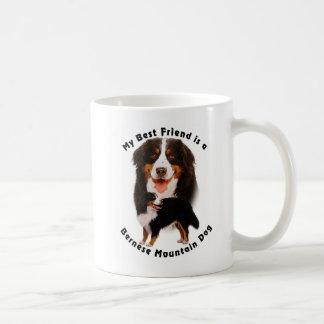 Best Friend Bernese Mountain Dog Coffee Mugs