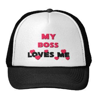 Best Friend Boss Trucker Hats
