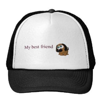 Best friend dog mesh hat