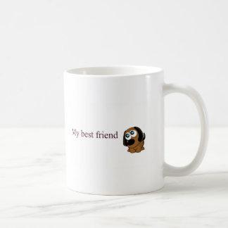 Best friend dog coffee mugs
