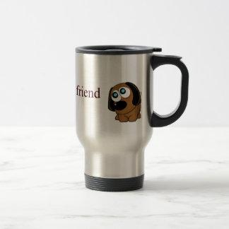 Best friend dog stainless steel travel mug