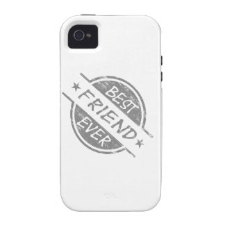 Best Friend Ever Gray Case-Mate iPhone 4 Covers