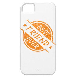 Best Friend Ever Orange iPhone 5 Case