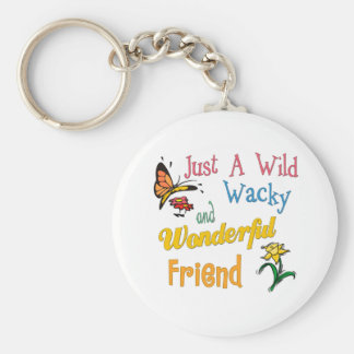 Best Friend Gifts Basic Round Button Key Ring